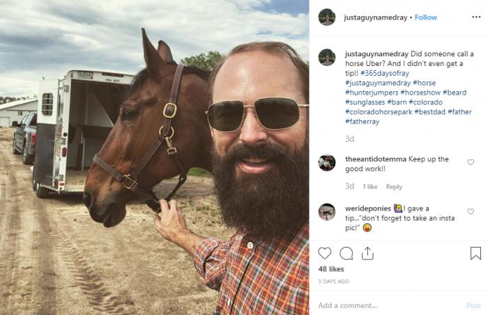 horse uber