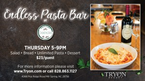 Every Thursday at Campagna: Endless Pasta Bar!