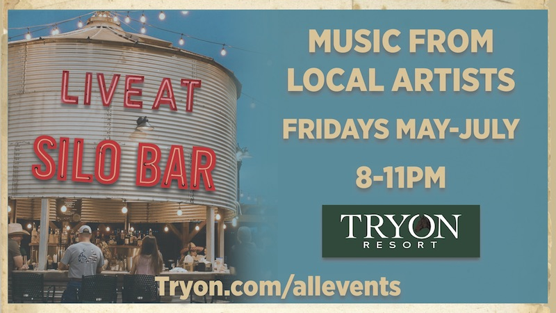 Live at the Silo Bar Every Friday through July!