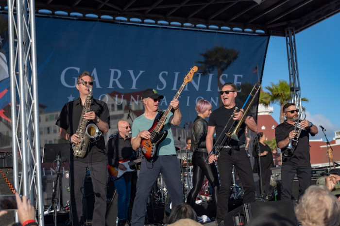 Gary Sinise & the Lt. Dan Band's Father's Day Concert & BBQ at the Hotel Del in Coronado, CA on June 17, 2018.