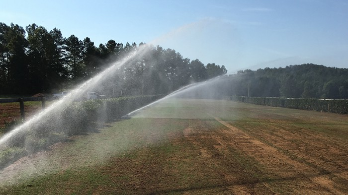 Steeplechase Irrigation System