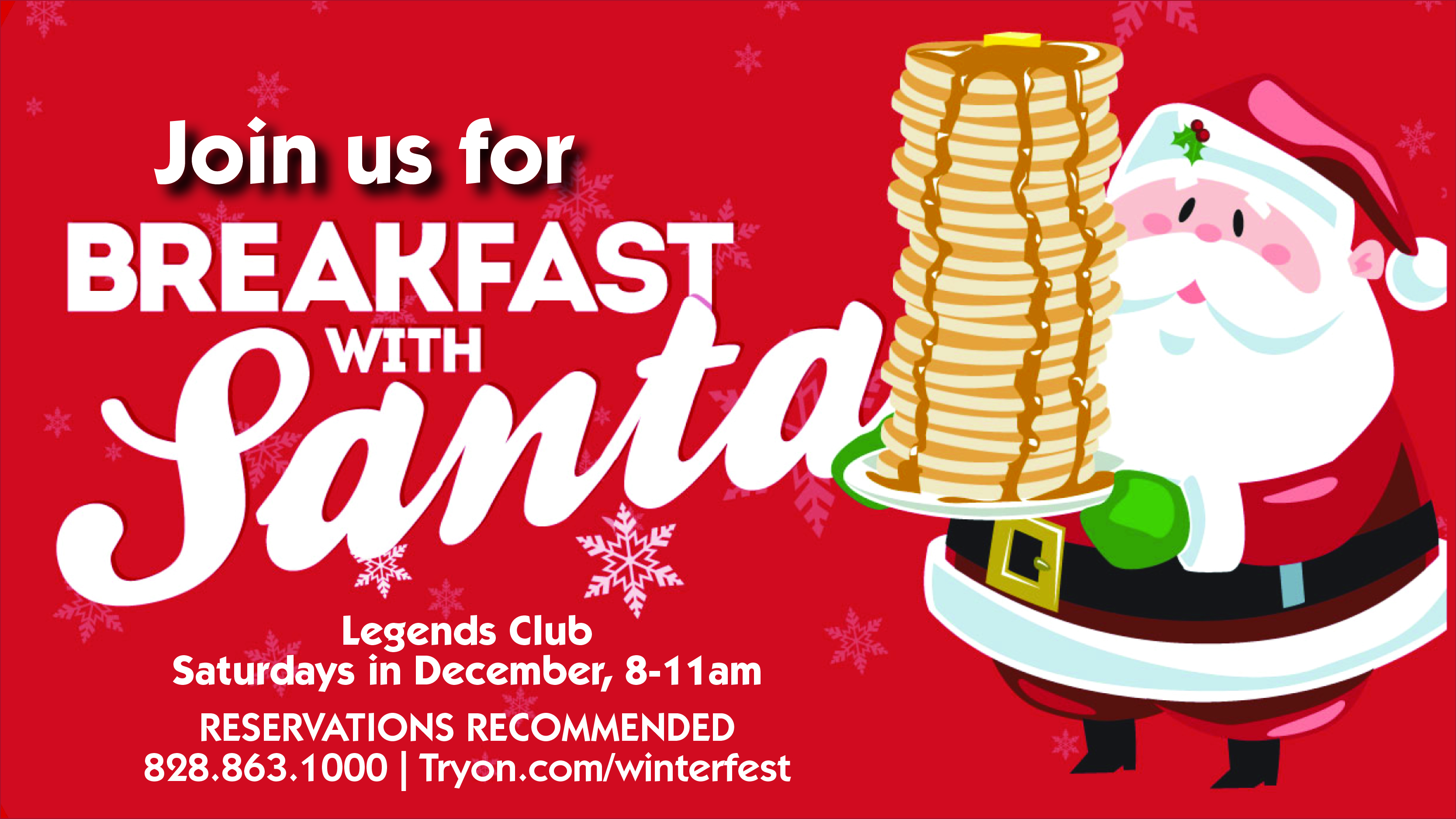 Breakfast with Santa WebSlider