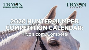 Tryon 2020 Hunter/Jumper calendar