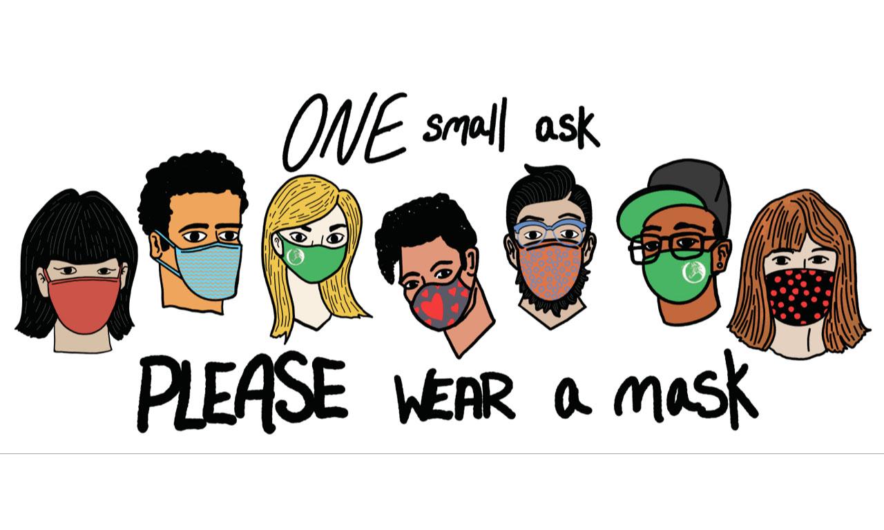 Wear a Mask-Jumbotron
