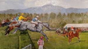 2021 Steeplechase Painting
