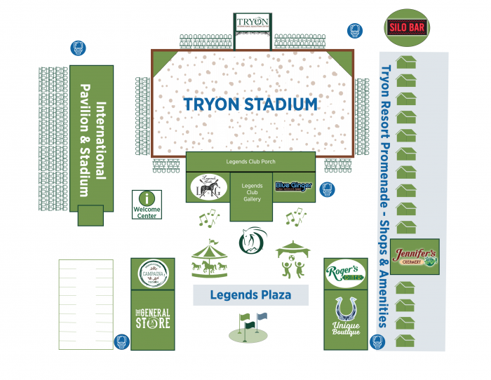 Legends Plaza Map