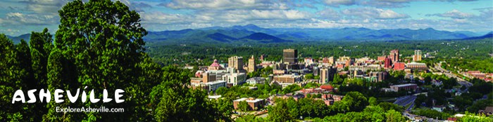 Explore Asheville Header with Logo